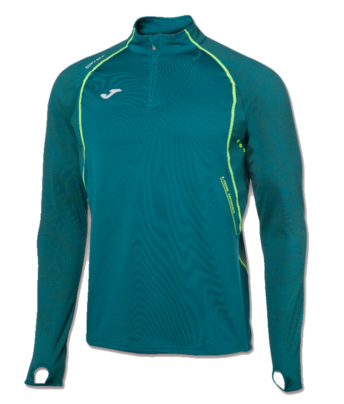 Joma - Løbe sweatshirt - Herre - 1/2 Zip - Grøn | Jerseys