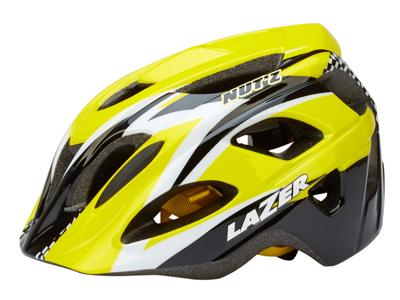 Lazer - Cykelhjelm - Nut'Z Race - Gul - 50-55 cm