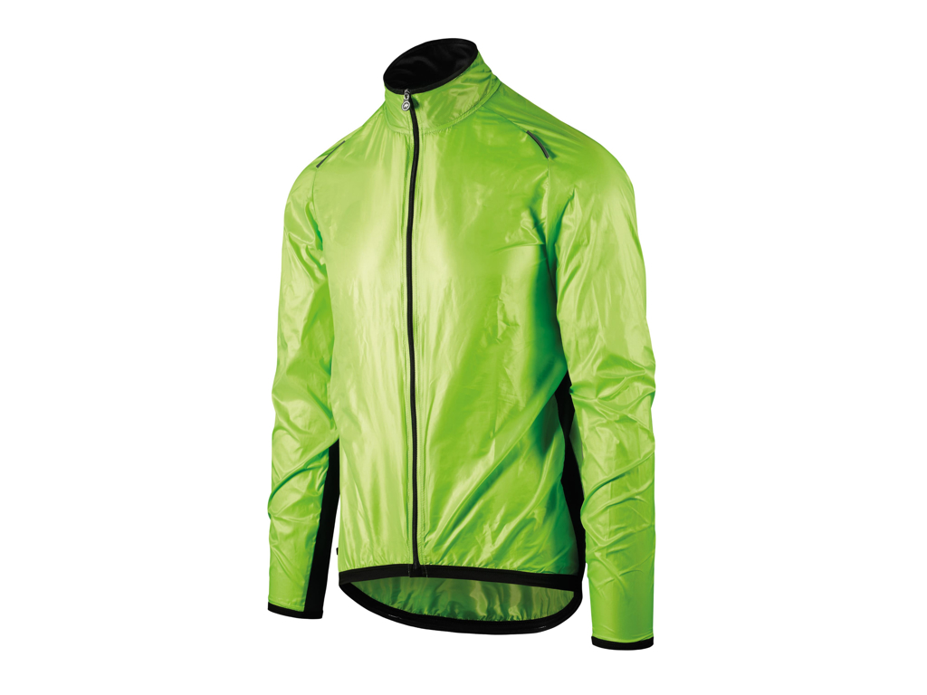 Assos Mille GT Wind Jacket - Cykeljakke - HiVis Grøn - Str. L thumbnail