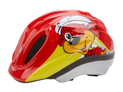 PUKY - PH1 - Cykelhjälm - 48-59 cm - Röd