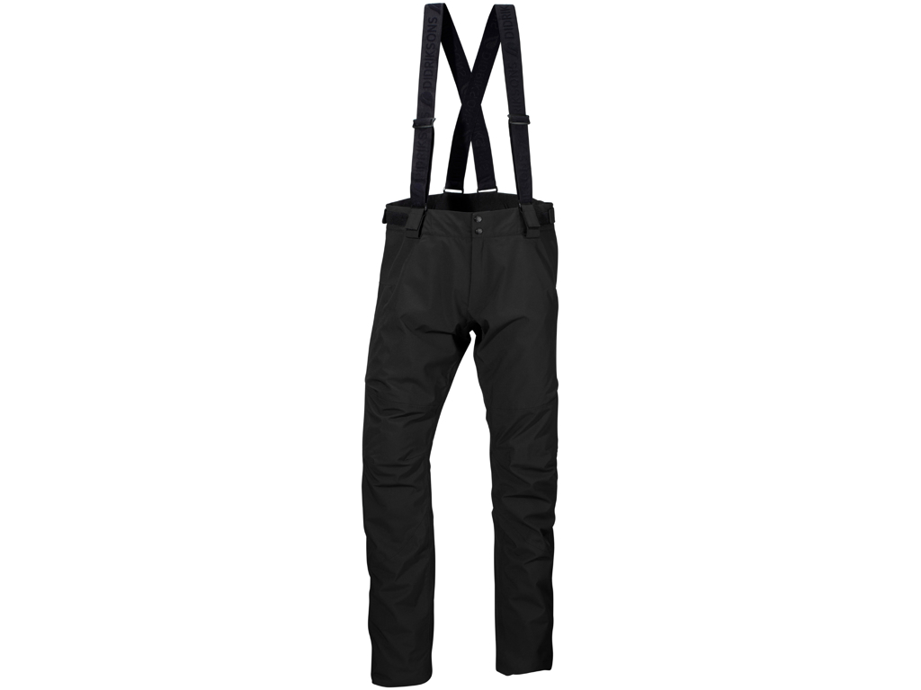Didriksons Dale Mens Pants - Vandtæt herrebukser m. for - Sort