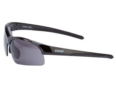 BBB - Løbe- og cykelbrille Impress Lady - 3 sæt linser - Sort