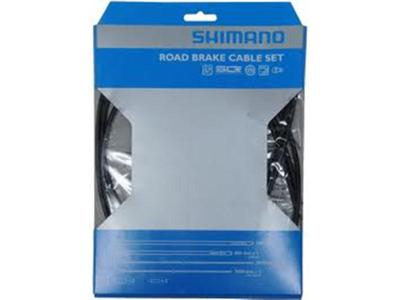 Bremsekabel sæt PTFE sort til Racer/Sportscykler
