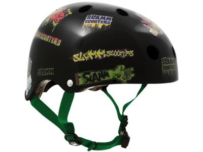 Cykel- och skatehjälm Slamm Scooters Svart