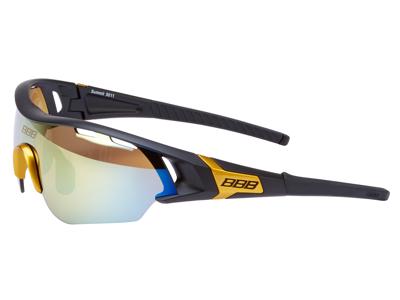 BBB - Löpar- och cykelglasögon Summit - 3 set linser - Mattsvart