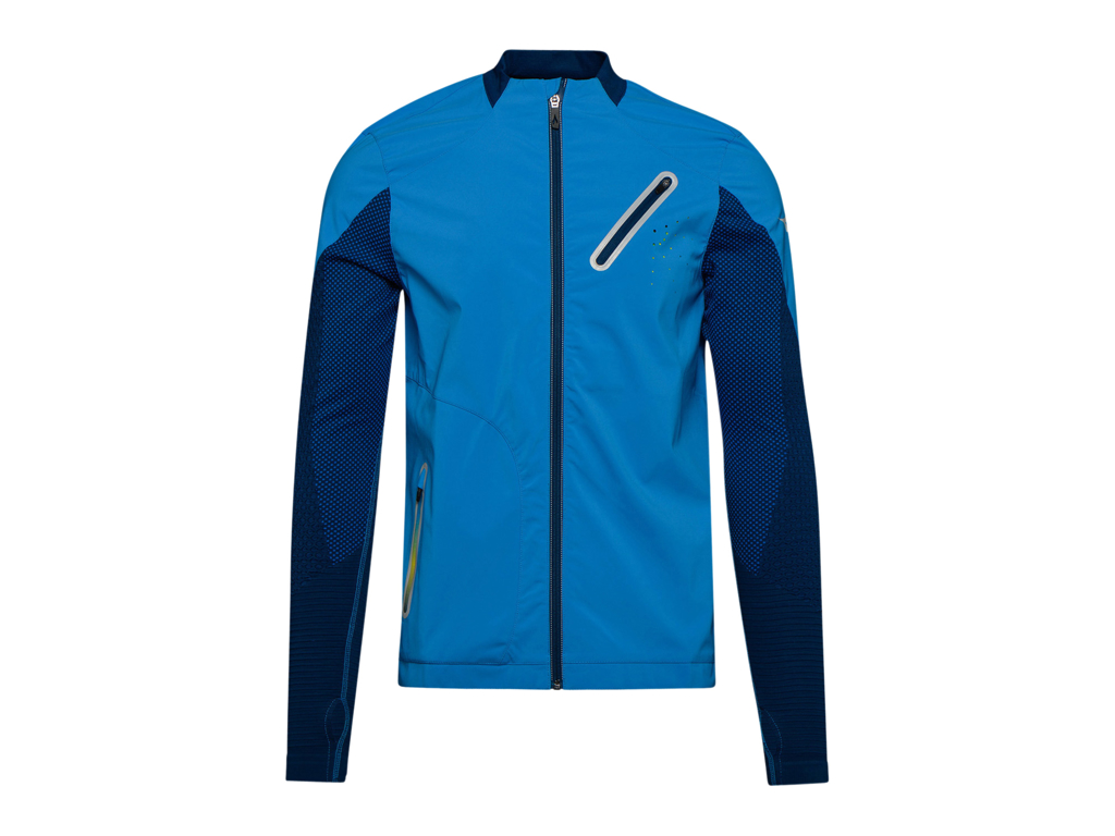 Image of   Diadora Jacket Win - Løbejakke Herre- Blå - Str. L/XL
