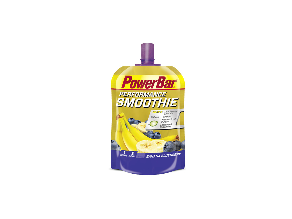 Powerbar Performance Smoothie - Banan og blåbær 90 gram