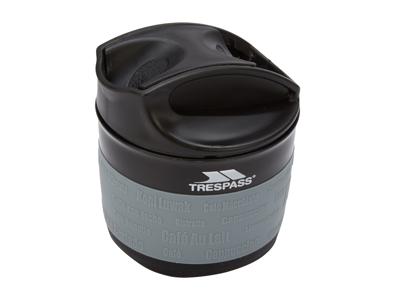 Trespass Coffeepop - Hopvikbar silikon kopp - 355 ml. - Svart