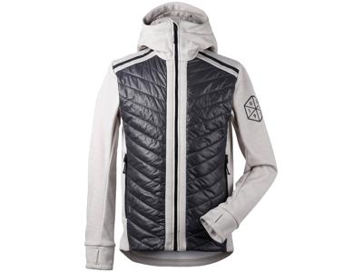 Didriksons Zuko Mens Jacket - Hybridjakke herre - Grå