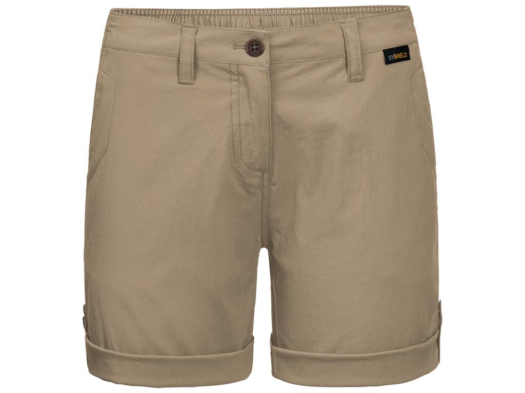 Jack Wolfskin Desert Shorts - Dame Str. 40 - Sand dune thumbnail