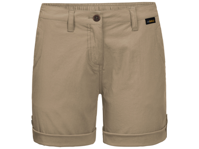 Jack Wolfskin Desert Shorts - Dame - Kaki