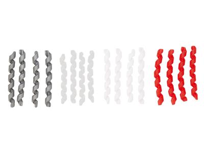 Atredo - Ramskydd till kablar - Spiral - 60 mm - Vit - 4 st