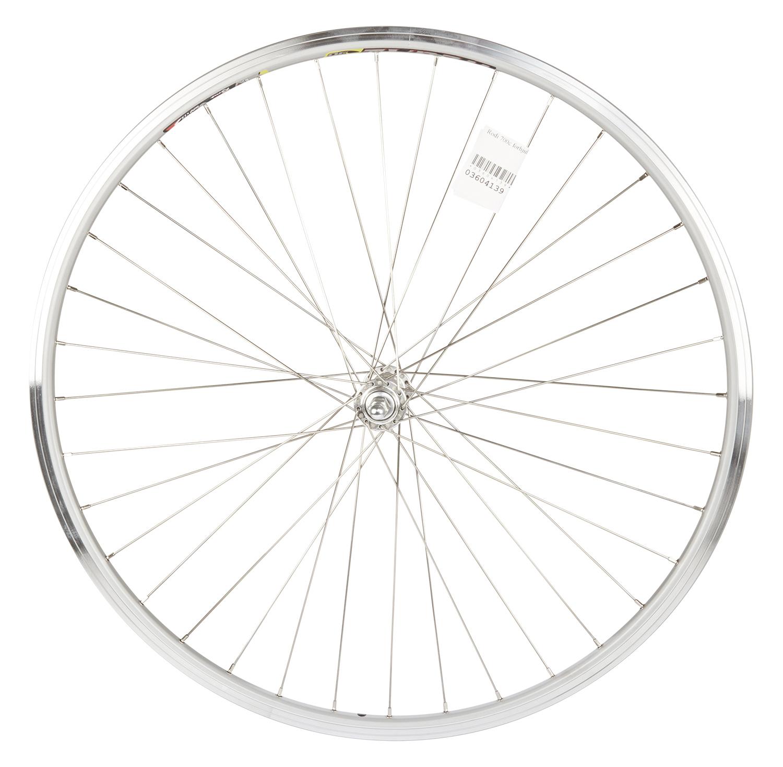Rodi 700c forhjul - Wegal Due fælg - 13-622 - Gevind - DB 13 mm - Sølv | Front wheel