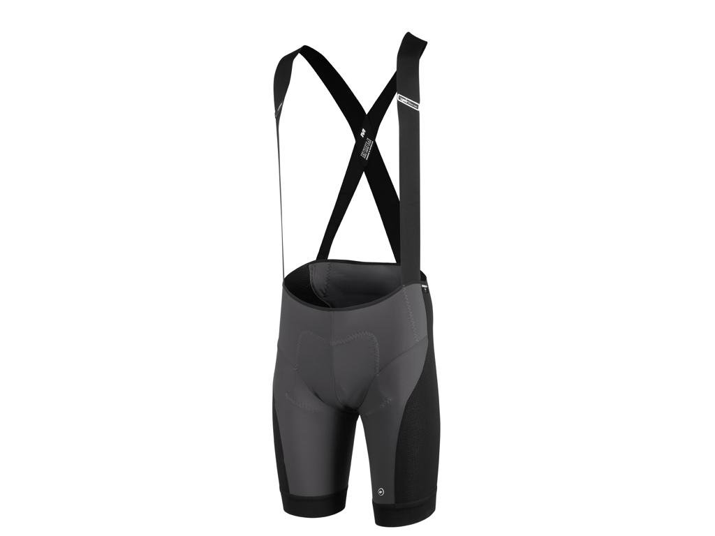 Assos XC Bib Shorts  - Bibshorts m. pude MTB - Grå - Str. M thumbnail