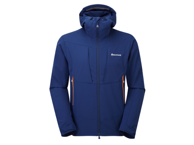 Montane Dyno Stretch Jacket - Softshell Mand - Navy - Medium