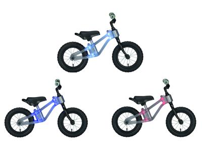 """Ride Phantom - Springcykel med ljus i ramen - 12"""""""