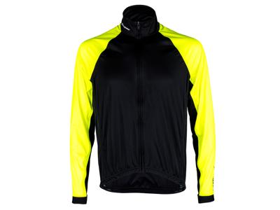 XTreme X-Rain - Cykeljakke - Sort/Neongul