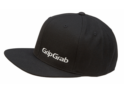 GripGrab Snapback Cap - Sort - One size