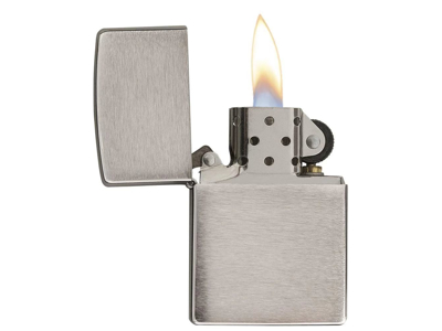 Zippo Brushed Chrome - Lighter - Børstet krom