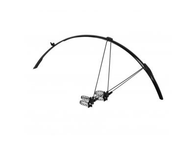 Skärmset Zefal Shield R30 svart till racer cykel