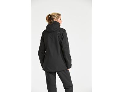 Didriksons Alta Womens Jacket - Vandtæt damejakke m. for - Sort
