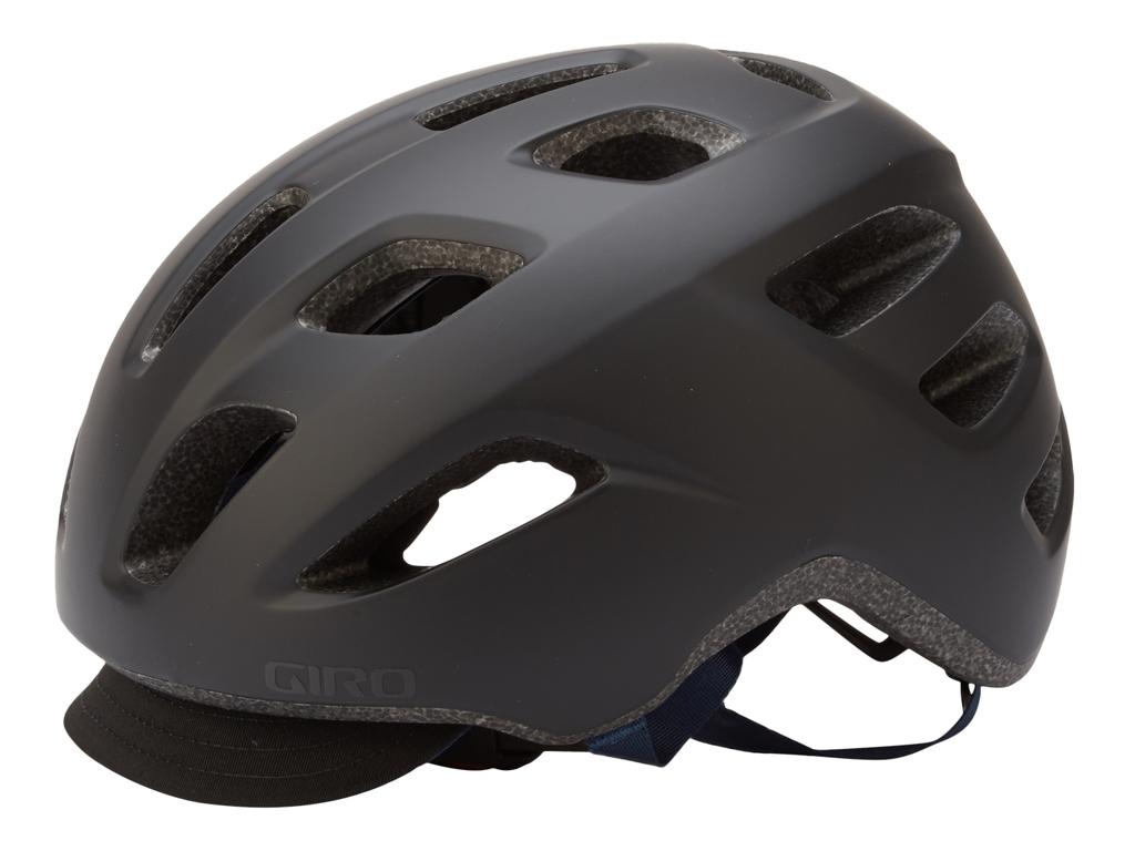 Giro Cormick - Cykelhjelm - Str. 54-61 cm - Mat Sort/Mørk Blå