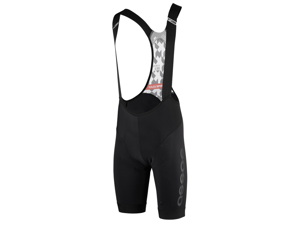 Image of   Assos T Equipe Evo - Bibshorts med pude - Mand - Sort - Str. XL
