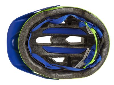 Bell Sidetrack Junior - Cykelhjelm - Str. 50-57 cm - Mat Lys Grøn/Blå