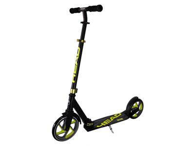 HEAD Urban 205 - Løbehjul med 205mm hjul til børn og voksne - Sort/Lime