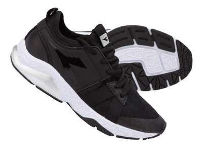 Diadora - X Run Evo - Løbesko - Dame - Sort/Hvid