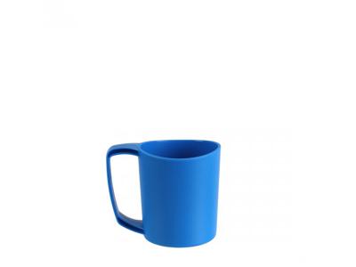 LifeVenture Ellipse Plastic Camping Mugs - Letvægts Krus - Blå