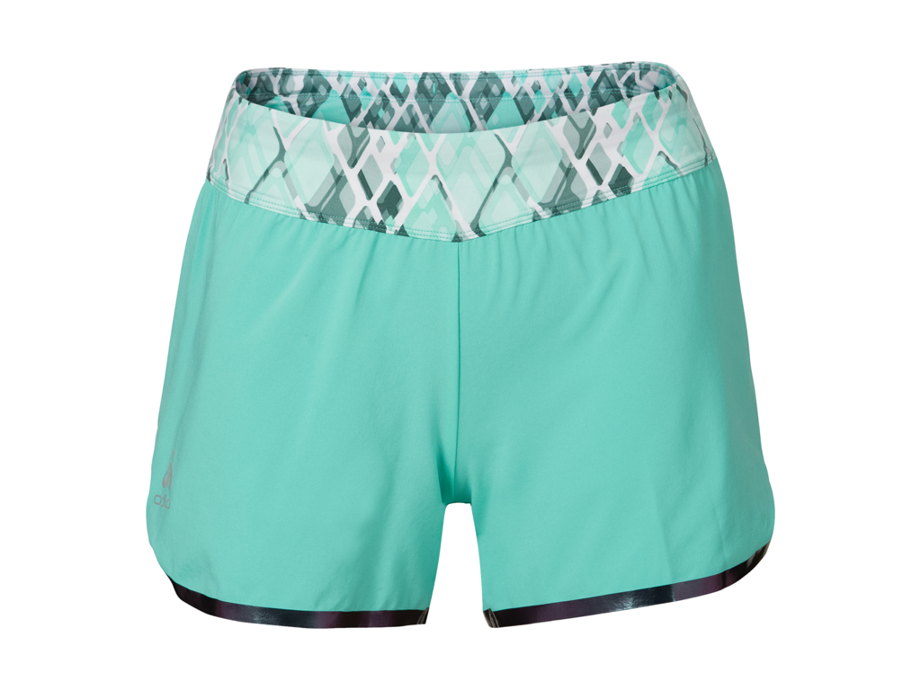 Image of   Odlo dame shorts - SAMARA - Cockatoo - Str. M