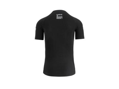 Assos SS Skinfoil Spring/Fall - Svedundertrøje T-Shirt - Sort