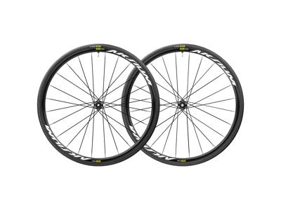 Mavic Aksium Elite UST Disc - Tubeless Hjulset inkl. däck - Sram/Shimano - 6 bult - 700x28