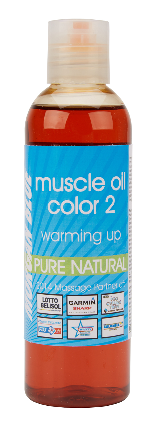 Morgan Blue Muscle oil 2 - 200 ml. - Varmeolie med farve vinter | polish_and_lubricant_component