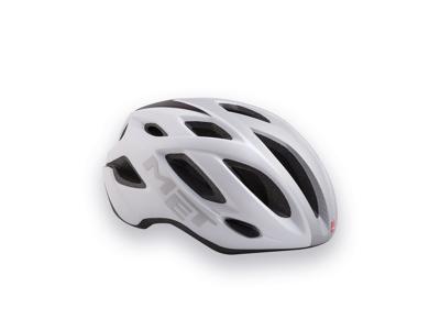 MET Idolo - Cykelhjelm - Hvid/Sølv