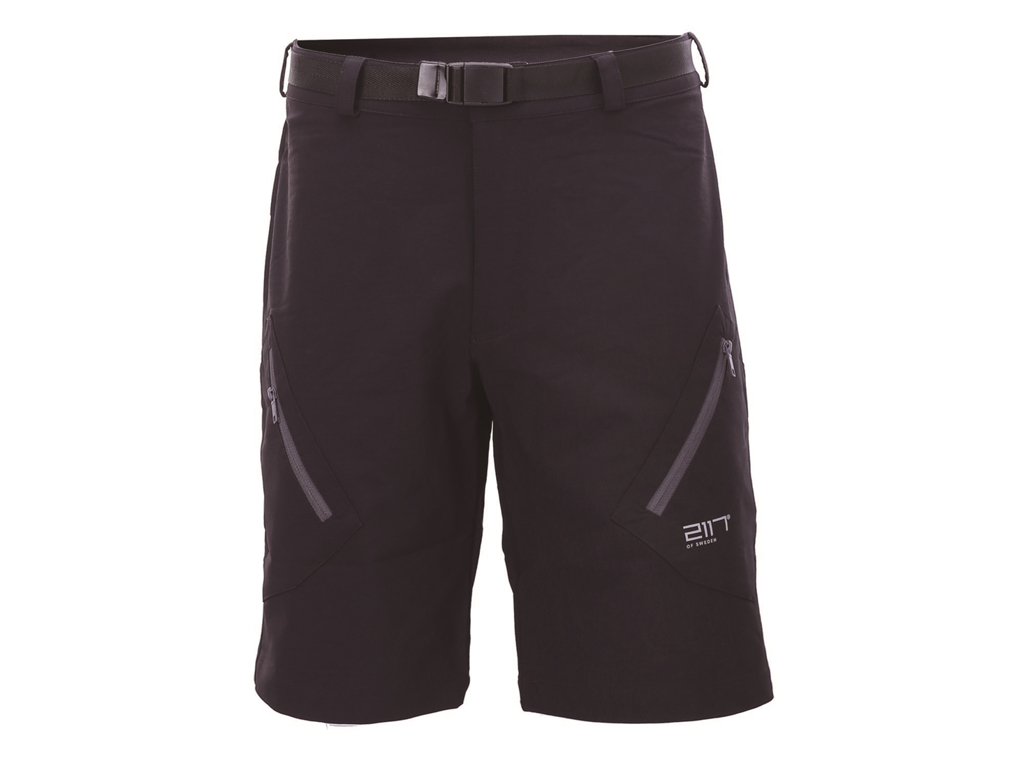 2117 Of Sweden Tåby Eco Outdoor Shorts - Fritidsshort - Herre - Mørkegrå - Str. XL thumbnail