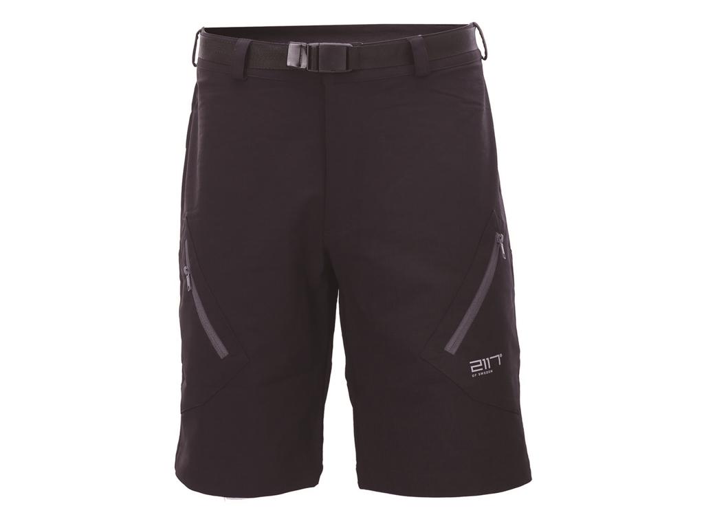 2117 Of Sweden Tåby Eco Outdoor Shorts - Fritidsshort - Herre - Mørkegrå - Str. S thumbnail