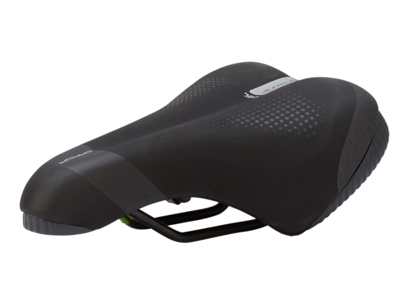 Selle Italia Garda Lady Gel - Sadel - Sportourer - Sort