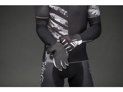 GripGrab Raptor - Vindtæt racerhandske - Sort/hvid