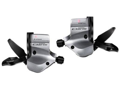 STI skiftegrebsæt Shimano Claris 3 x 8 gear til flatbar