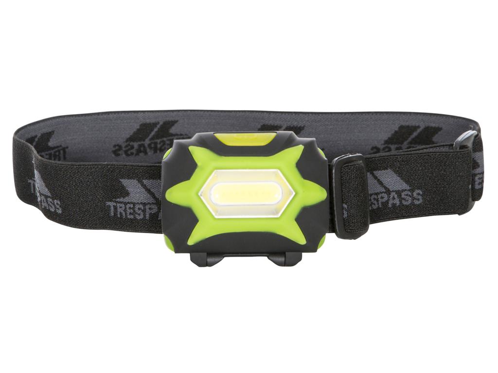 Trespass Beacon - Pannlampa 125 lumen LED - Svart