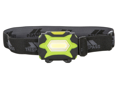 Trespass Beacon - Pannlampa 125 lumen LED - Svart