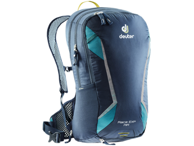 Deuter Race EXP Air - Rygsæk - 14 + 3 liter - Marineblå
