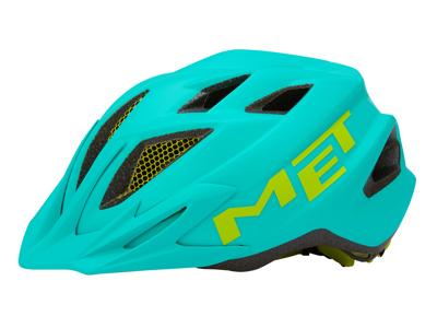 Met Crackerjack - Junior cykelhjelm - Smaragdgrøn - Str. 52-57 cm