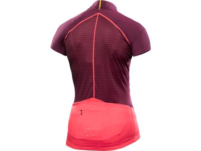 Mavic Sequence Graphic Jersey - Cykeltrøje med korte ærmer - Dame - Bordeaux