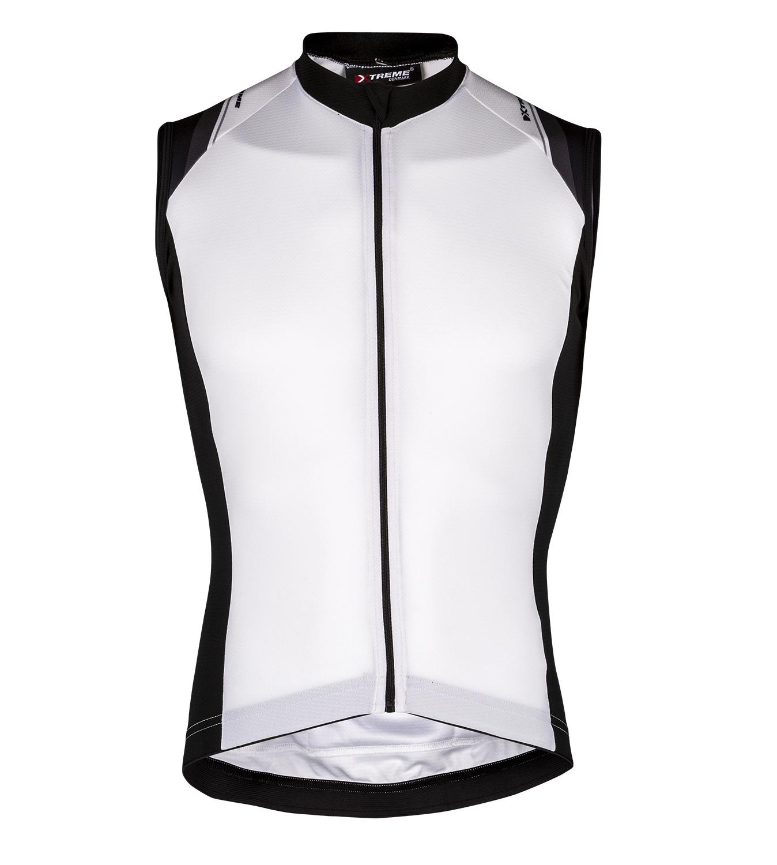 XTreme X-Rapid - Cykeltrøje uden ærmer - Hvid | Jerseys
