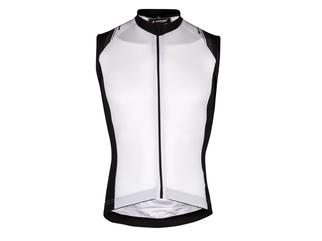 XTreme X-Rapid - Cykeltrøje uden ærmer - Hvid