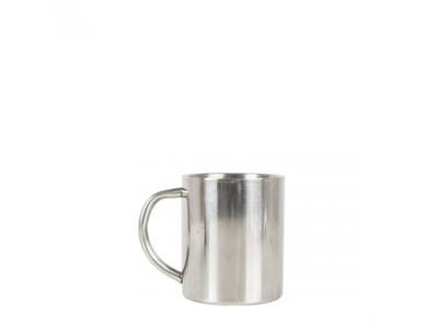 LifeVenture Stainless Steel Camping Mug - Mugg - Rostfritt stål - 0,2 L - Silver