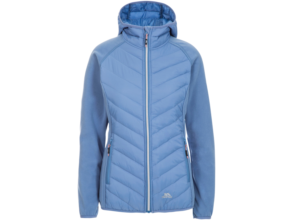 Trespass Boardwalk - Fleece jakke dame - Str. XS - Denim Blue thumbnail
